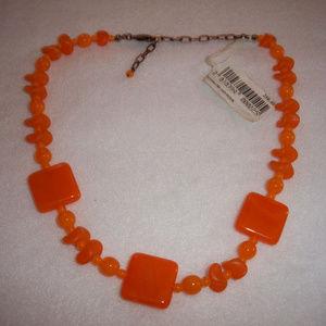 Nahrdelnik Genuine Czech Glass Necklace Never Worn
